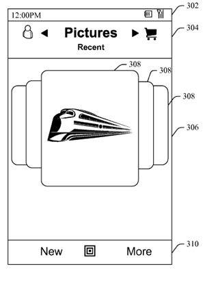 Microsoft-Patentantrag: Ähnelt der Benutzer-Oberfläche des iPhones ein wenig