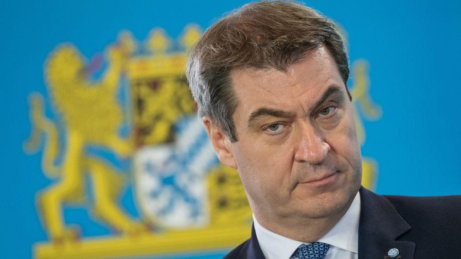 Markus Söder, Ministerpräsident in Bayern