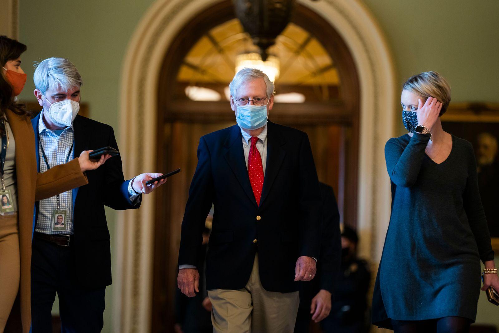 Senate passes NDDA, Washington, USA - 11 Dec 2020