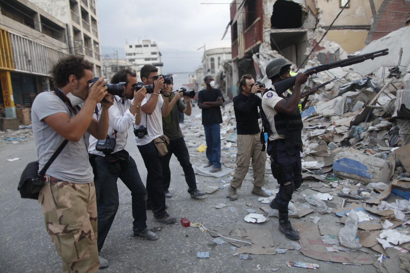 Haiti/ Erdbeben/ Fotografen
