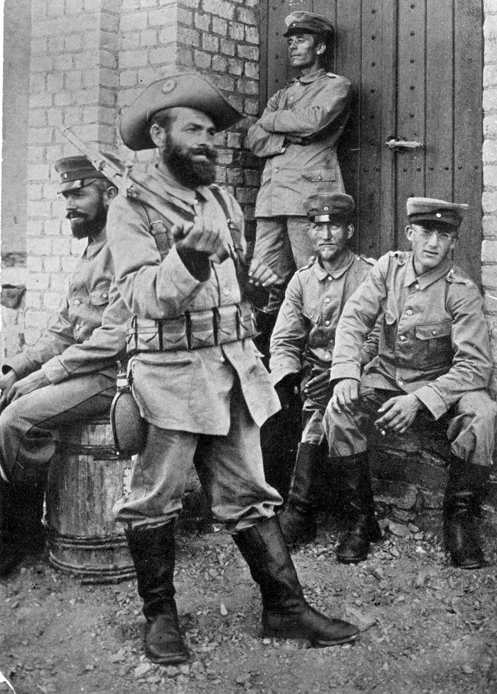 Deutsche Truppen, 1904