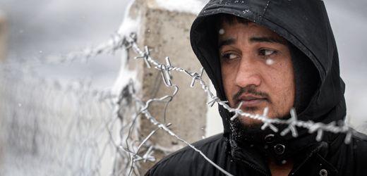 Flüchtlinge in Bosnien-Herzegowina: Verlassen in der Kälte
