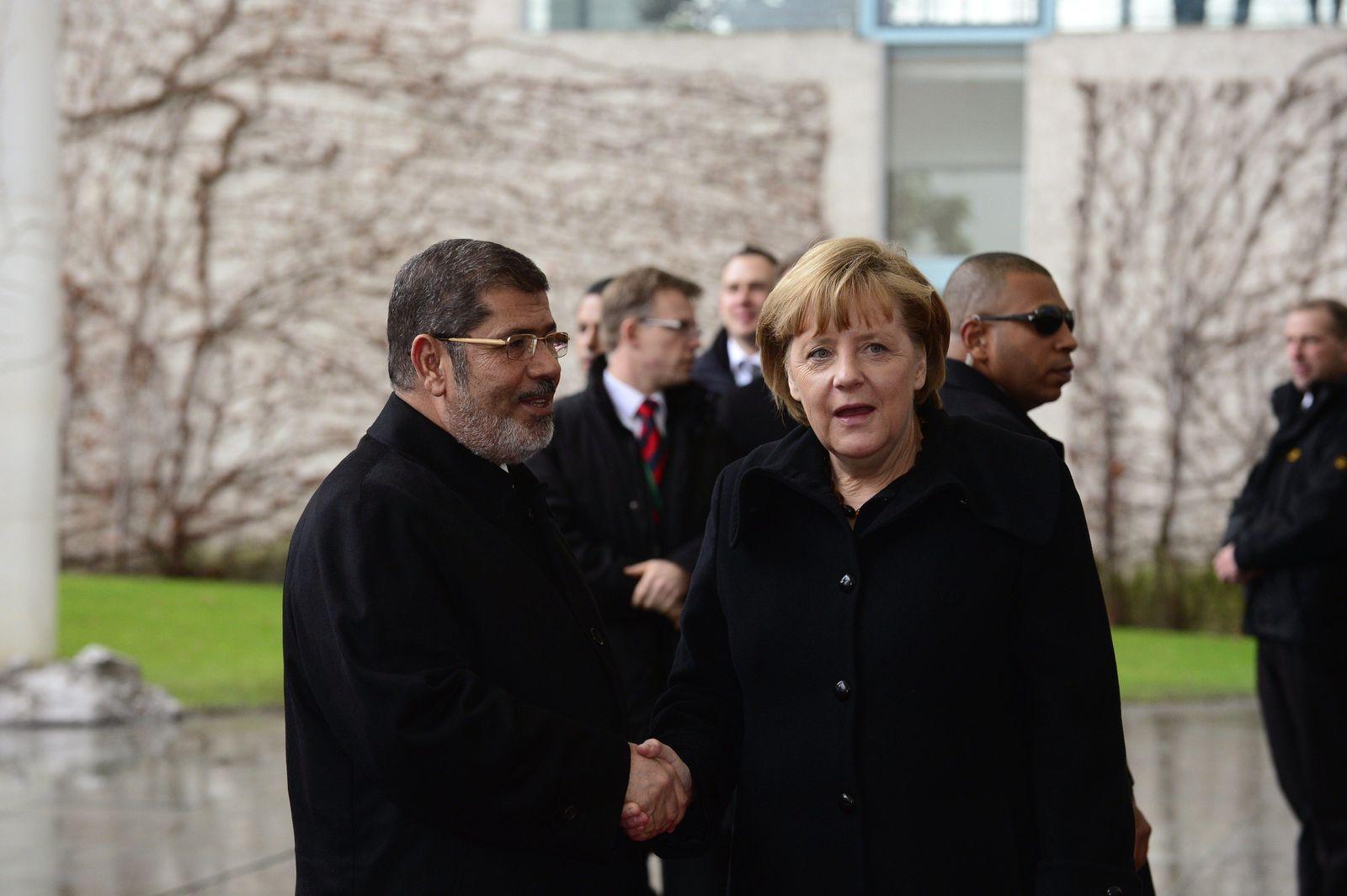 Merkel/ Mursi