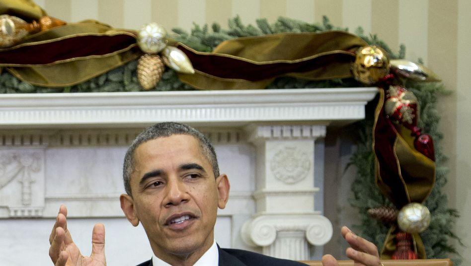 """US-Präsident Obama: """"Das Gesetz wird heute als ungerecht anerkannt"""""""