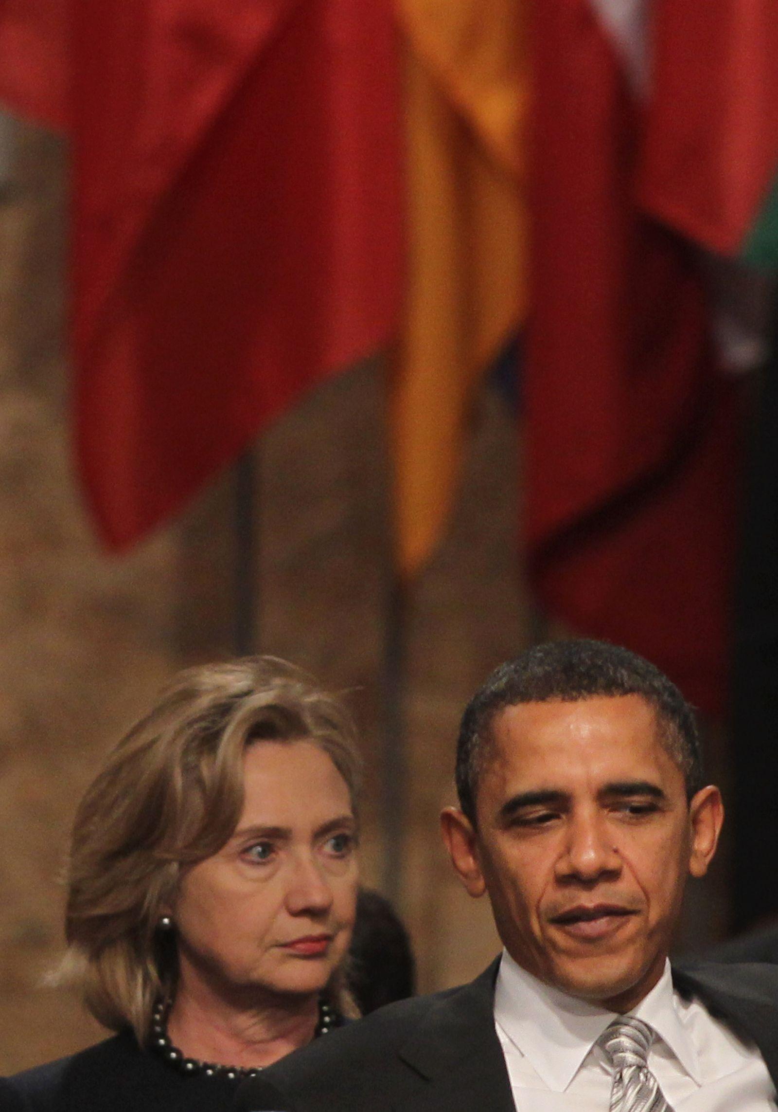 US Obama Clinton