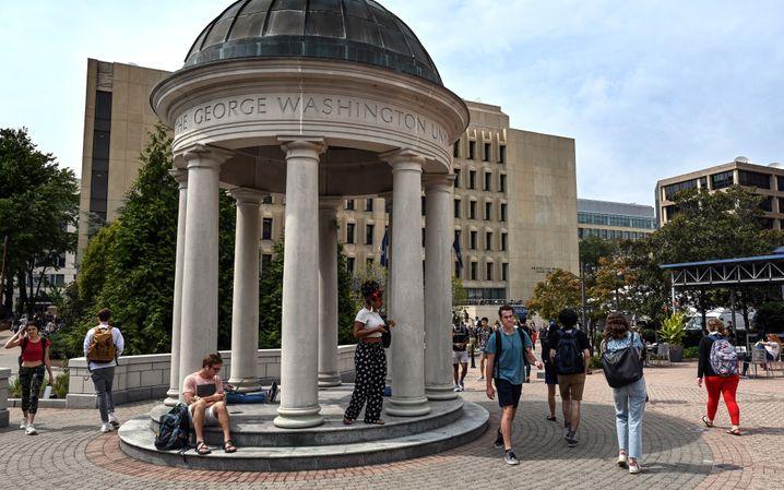Studierende an der George Washington University (Archivbild)