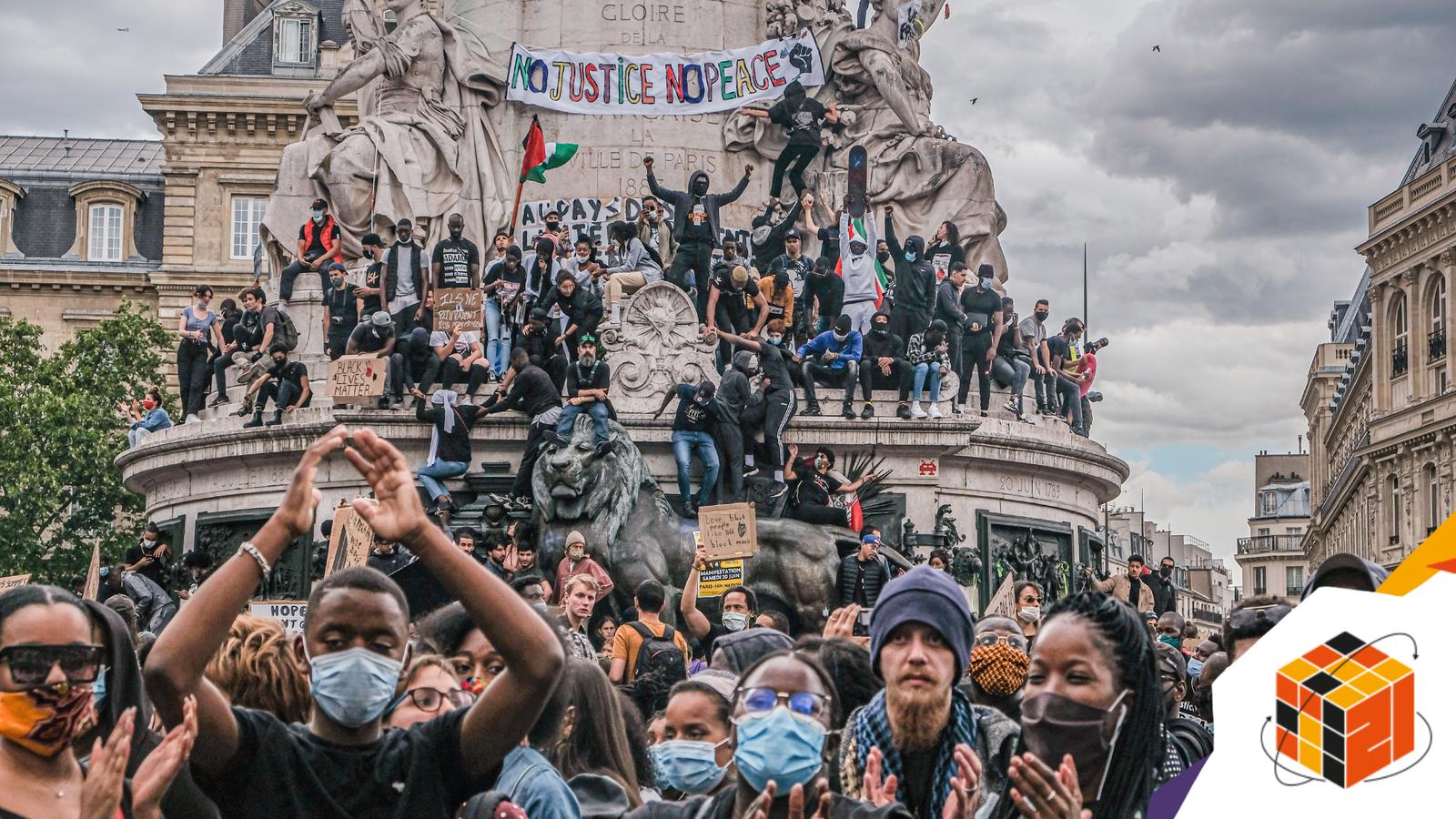 Black Lives Matter protest in Paris turns violent