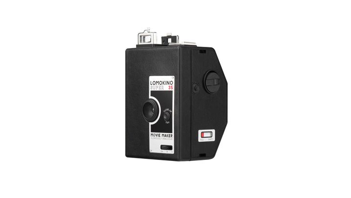 Analoge Filmkamera: LomoKino