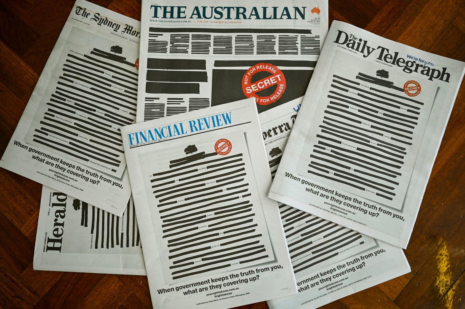 Australien Zeitungen
