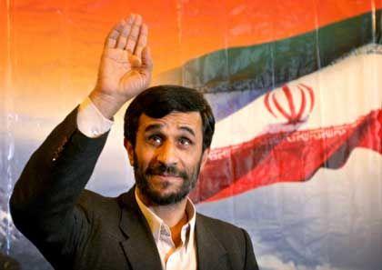 """Staatspräsident Ahmadinedschad: """"Wo er Recht hat, hat er Recht"""""""