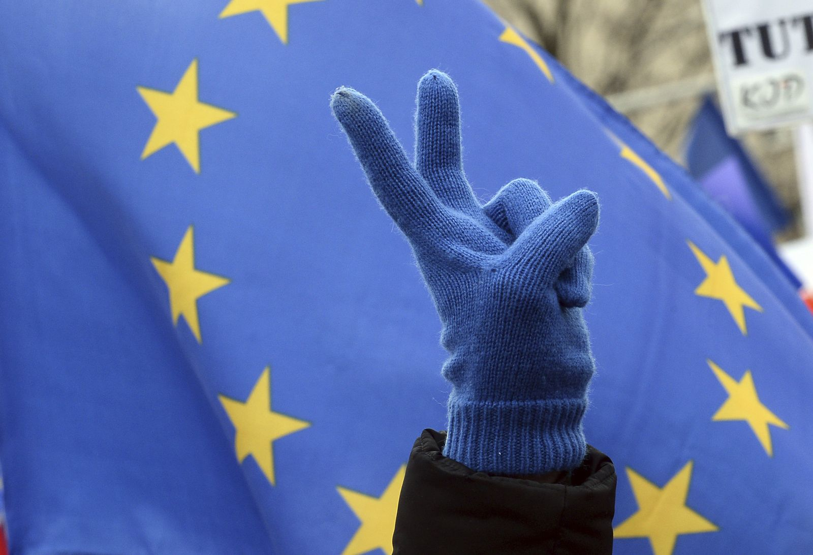 Europa/ Peace/ Hand