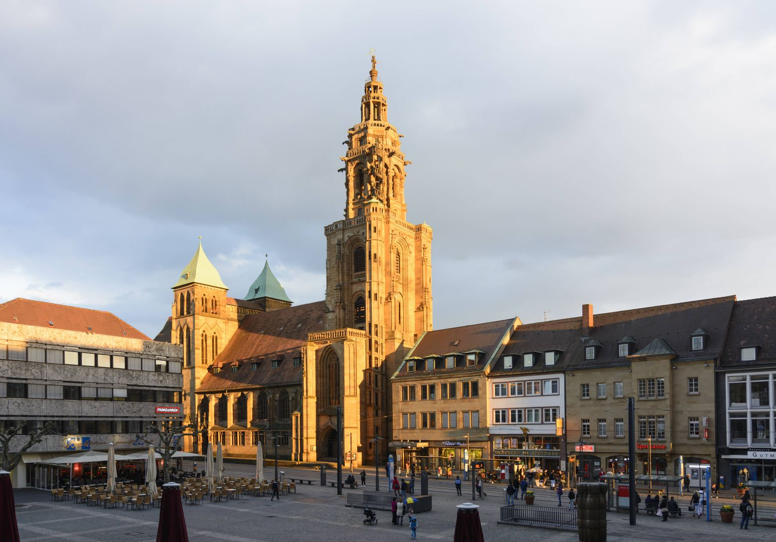EINMALIGE VERWENDUNG Kilianskirche / Heilbronn