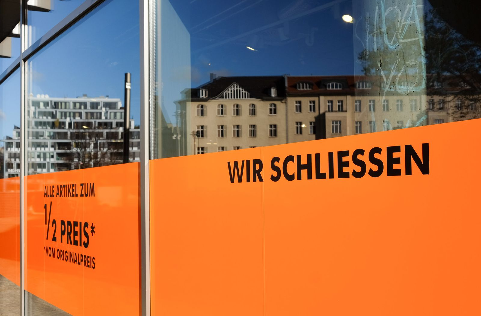 Ladenschließung in Berlin