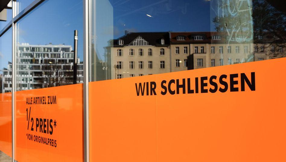 Geschlossenes Geschäft in Berlin (Symbolbild)