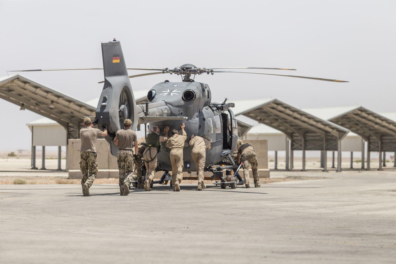 Sondierungsergebnisse/ Bundeswehr/ Jordanien/ Ausland