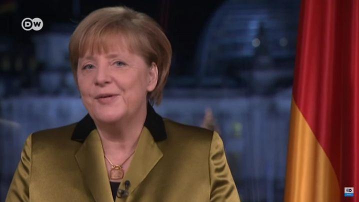 Spracherkennungs-Apps im Test: Test 1: Merkels Neujahrsansprache