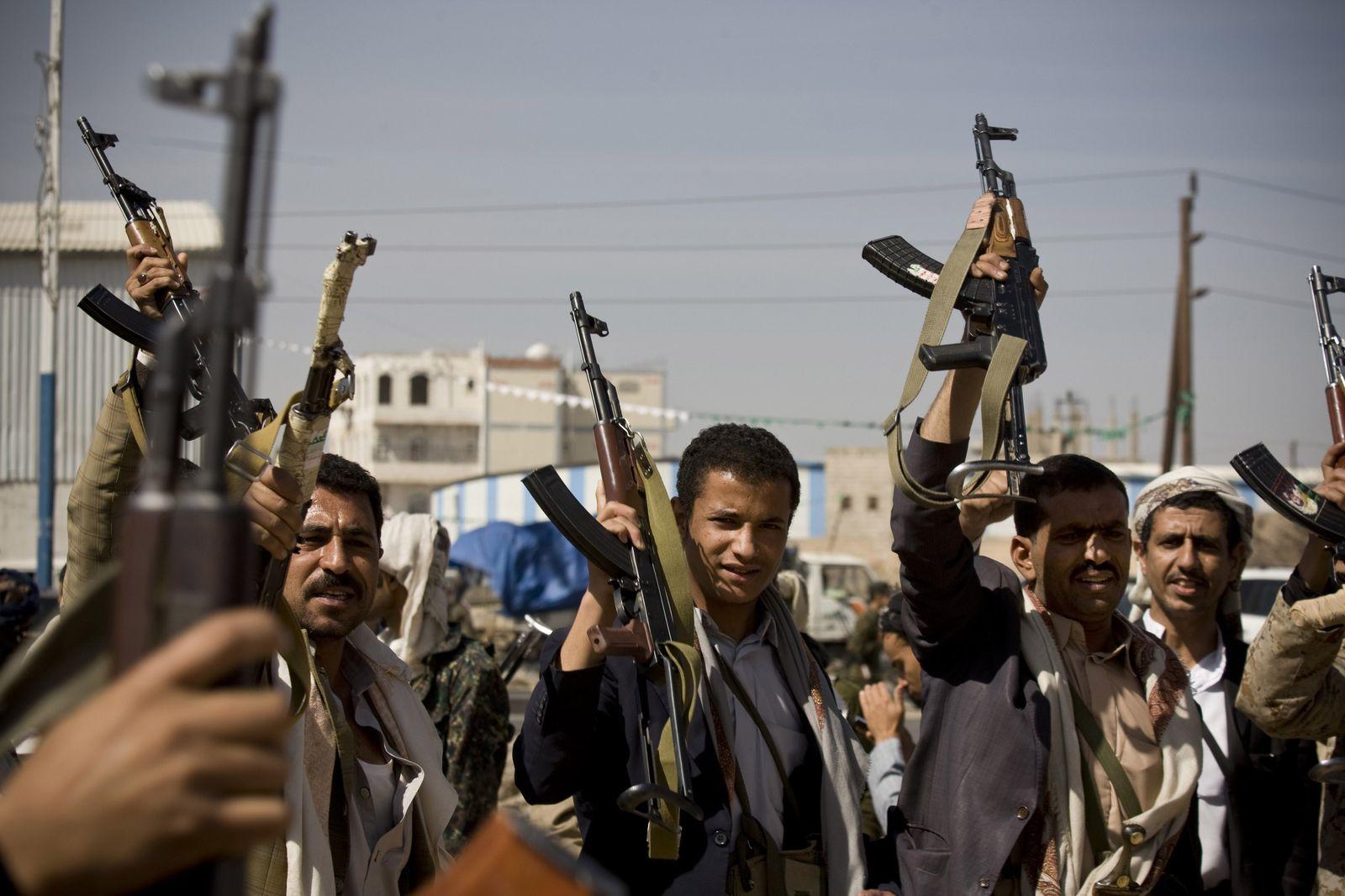 Jemen/Huthi-Rebellen