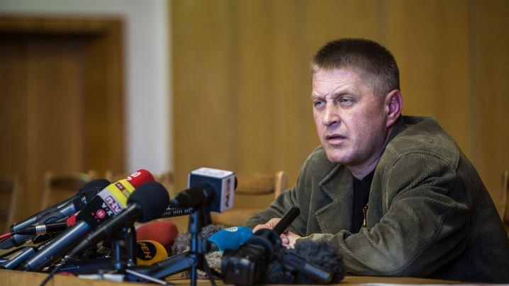 """Regierung besorgt: Deutsche """"Kriegsgefangene"""" in Slowjansk"""