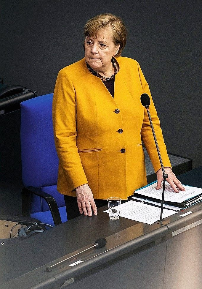 """Chancellor Angela Merkel: """"We can't allow that to happen."""""""
