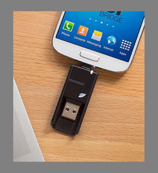 Bridge-USB-Stick von Leef: Speicher für Android-Geräte, Mac und PC
