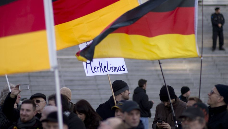 Anger over Chancellor Merkel's refugee policies has accelerated political fragmentation in Germany.