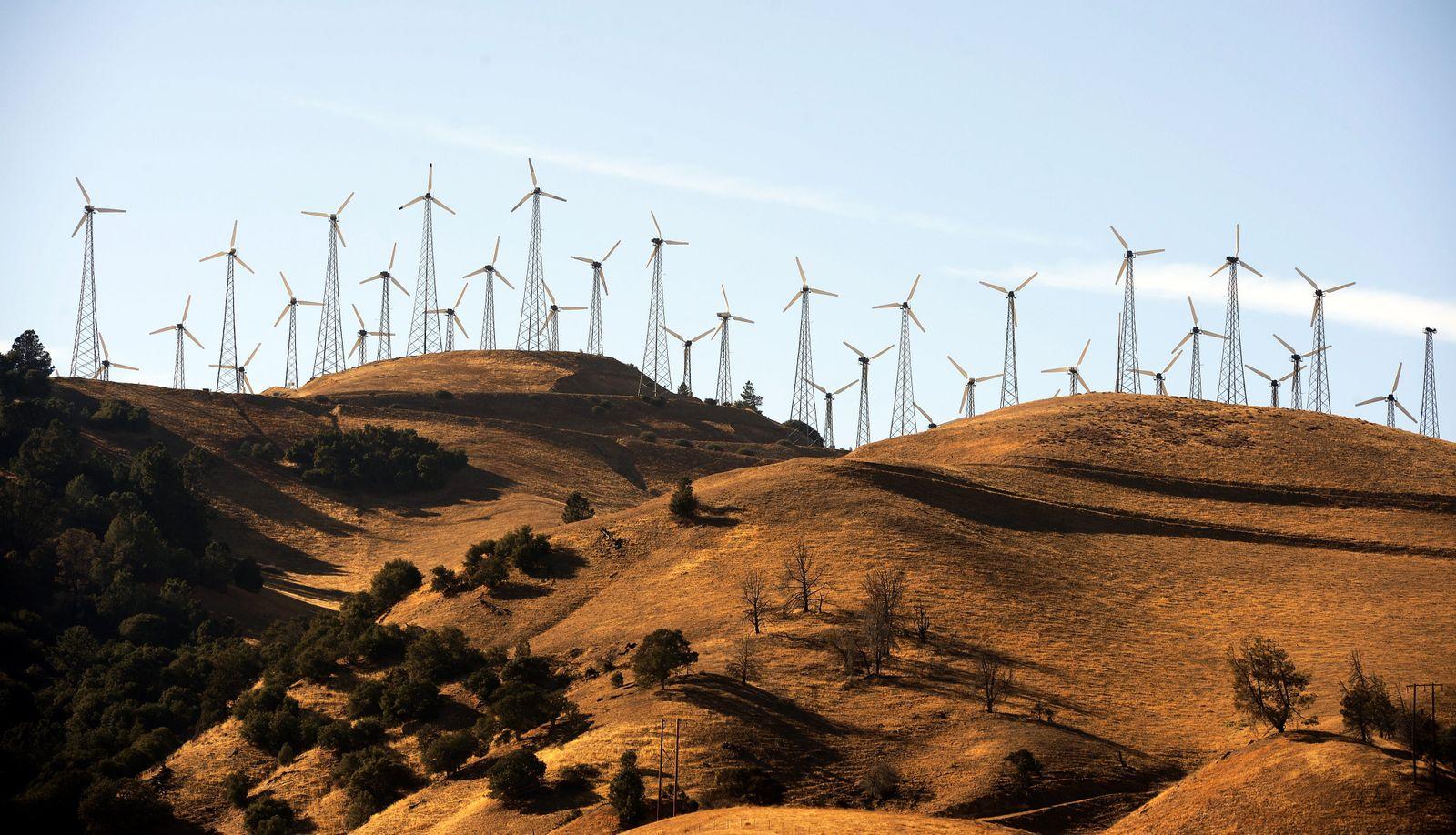 Windenergie / Windräder / Windkraft / Windpark / Kalifornien / USA