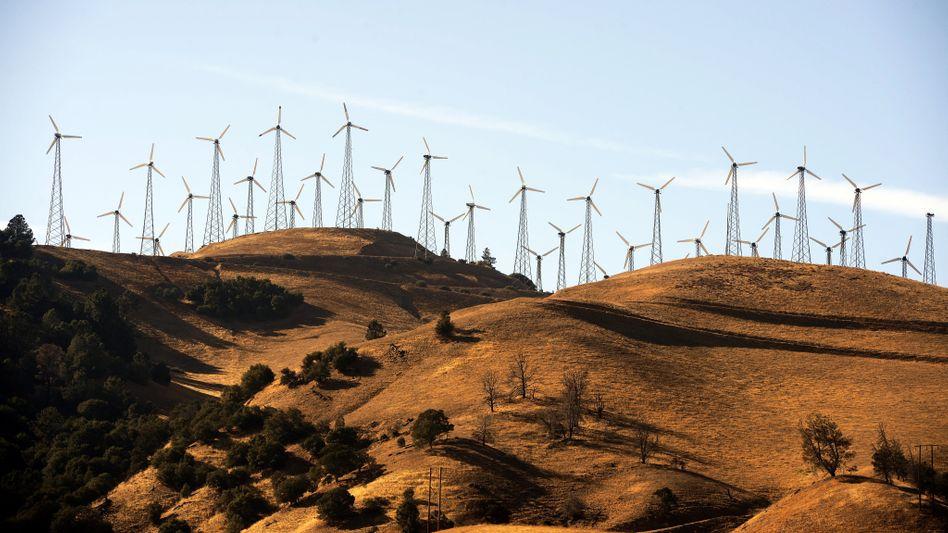 Windpark in Kalifornien: Mit privaten Mitteln nicht zu stemmen