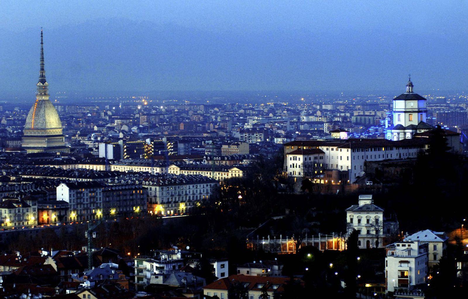 Turin Stadtansicht