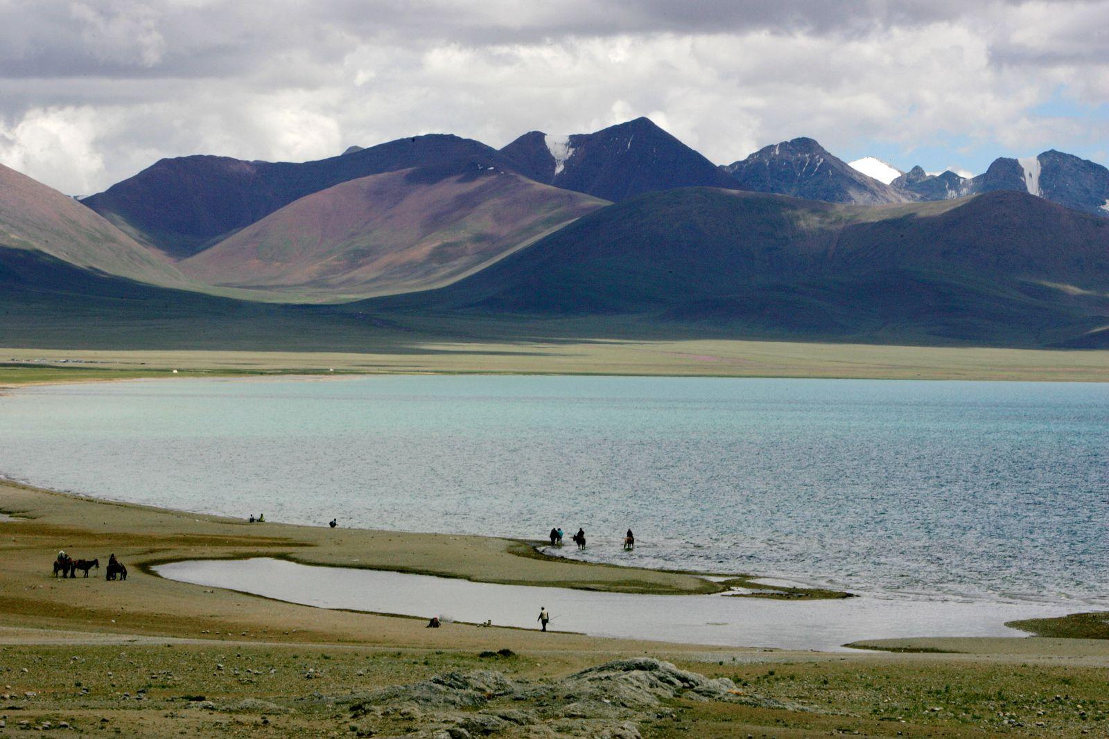 China / Tibet / Gletscher / Eisschmelze