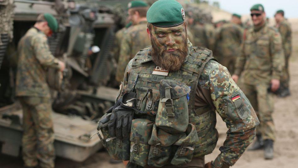 Bundeswehrsoldat im Manöver: Neues Problemgewehr