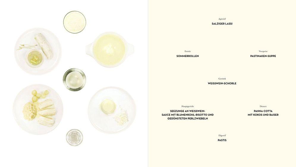 Kunst-Kochbuch: Das Farb-Menü