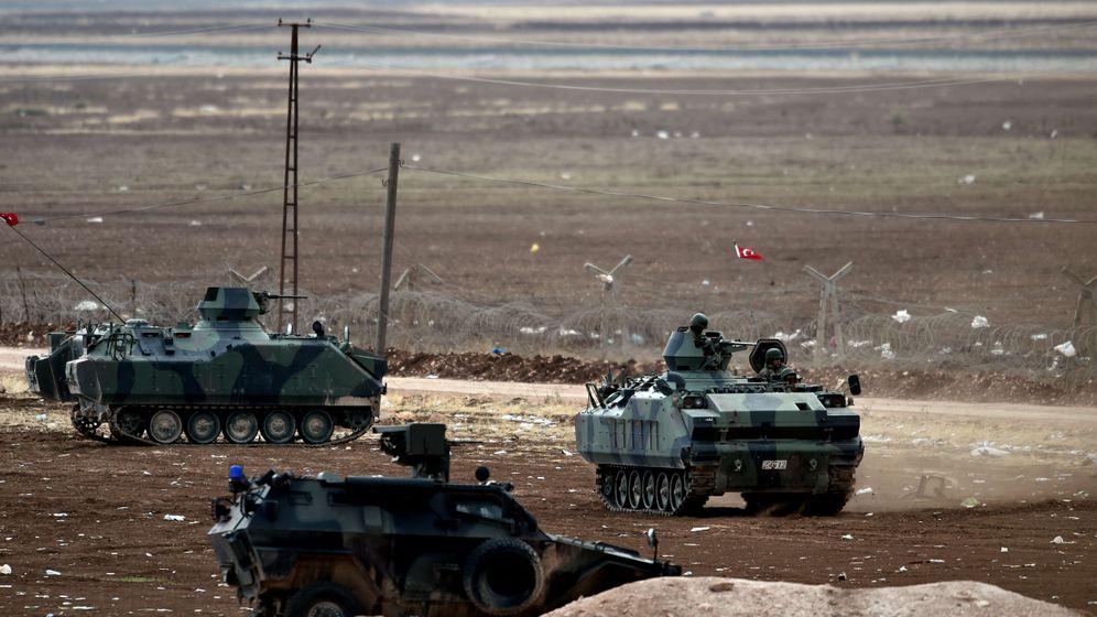 Grenze zu Syrien: Die Türkei rüstet auf