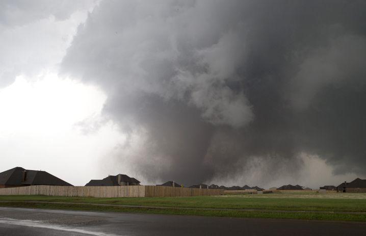 """Der Tornado über Moore: """"Als fahre ein Güterzug über deinen Kopf"""""""