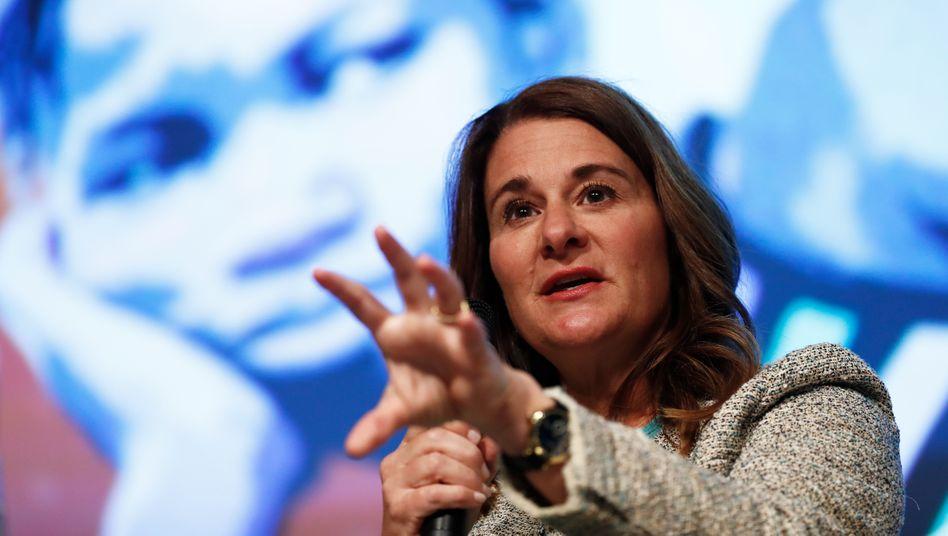 Melinda Gates: »Ich muss mehr tun, um solche Barrieren einzureißen«
