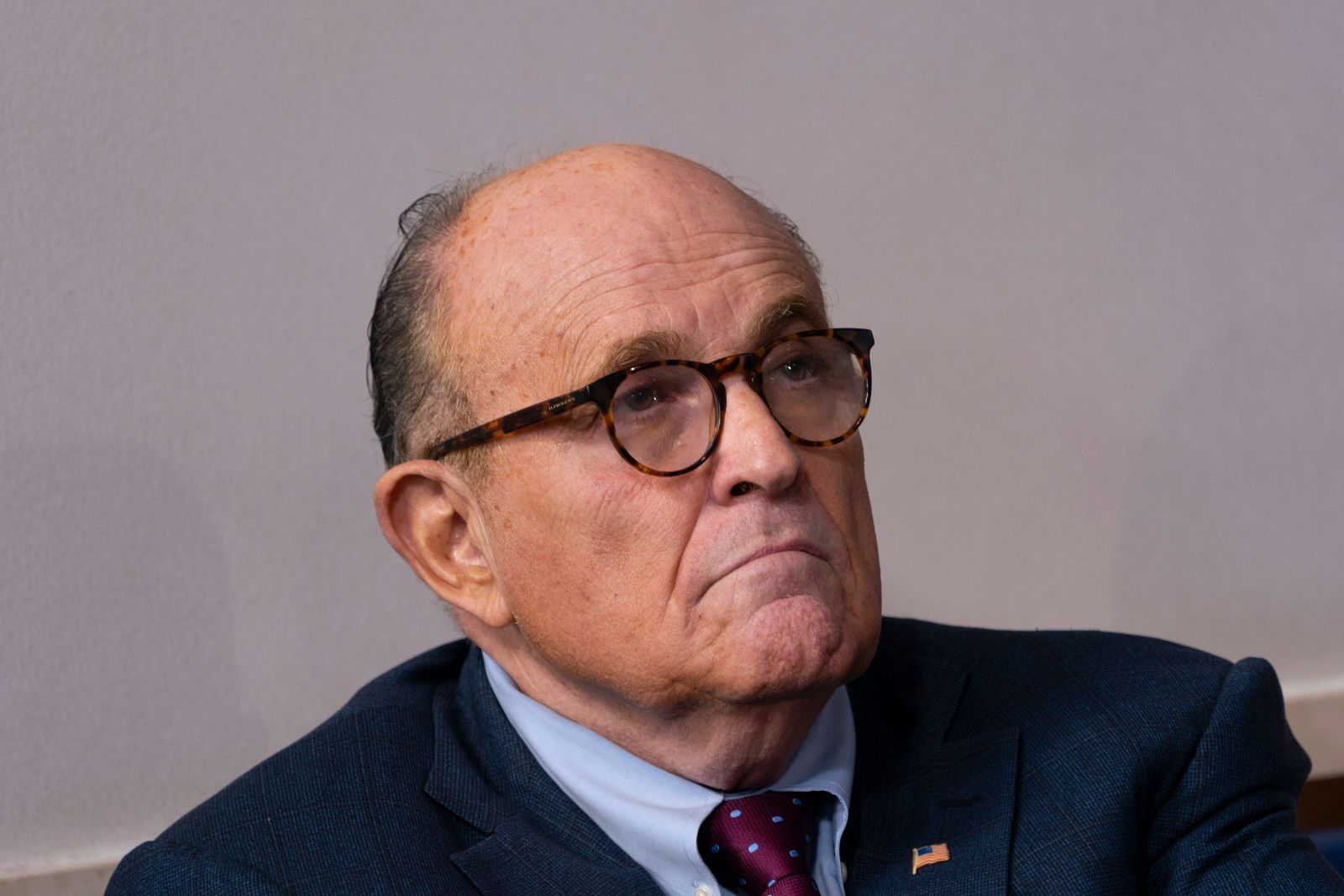 September 27, 2020, Washington, District of Columbia, USA: Former Mayor Rudy Giuliani (Republican of New York, New York