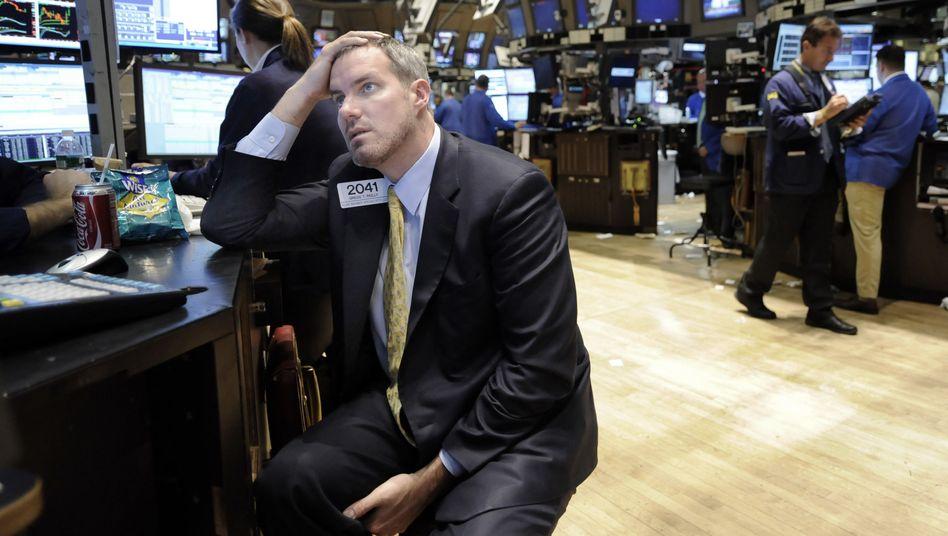 New Yorker Börse: Sind die Finanzmärkte mit der Refinanzierung der Rekordschulden überfordert?