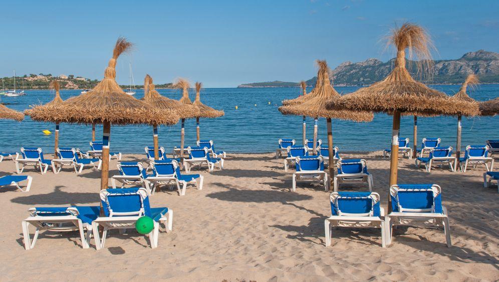 Strand von Pollenca: Vor allem bei Briten beliebt