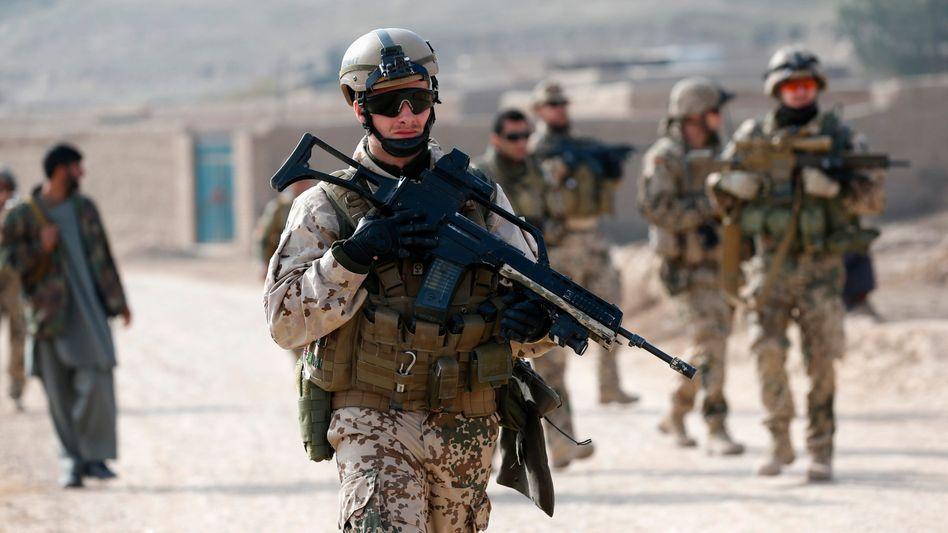 """Bundeswehrsoldaten in Afghanistan: Gefahr durch """"Regin""""-Trojaner"""