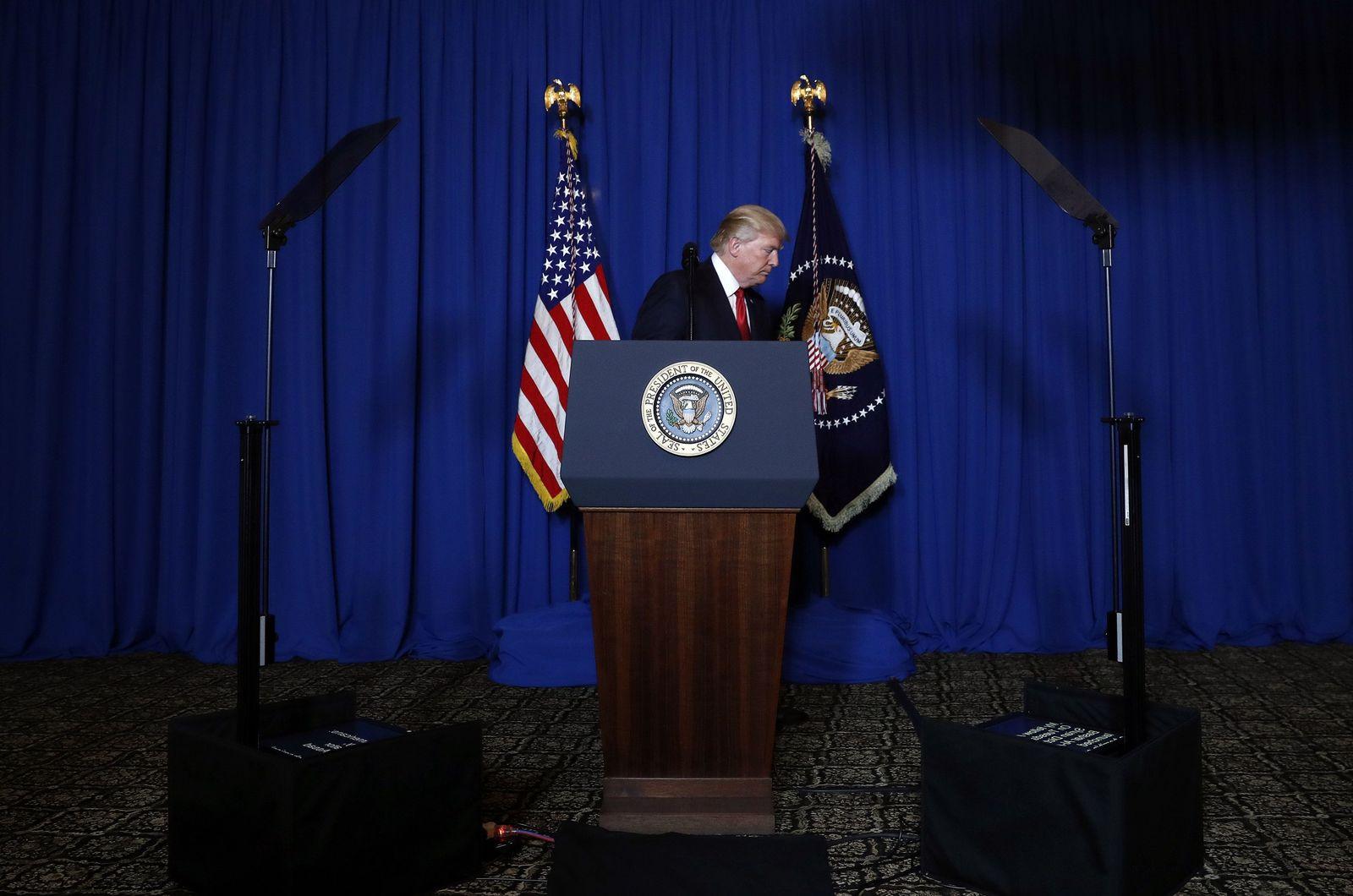 Trump zu USA Angriff in Syrien