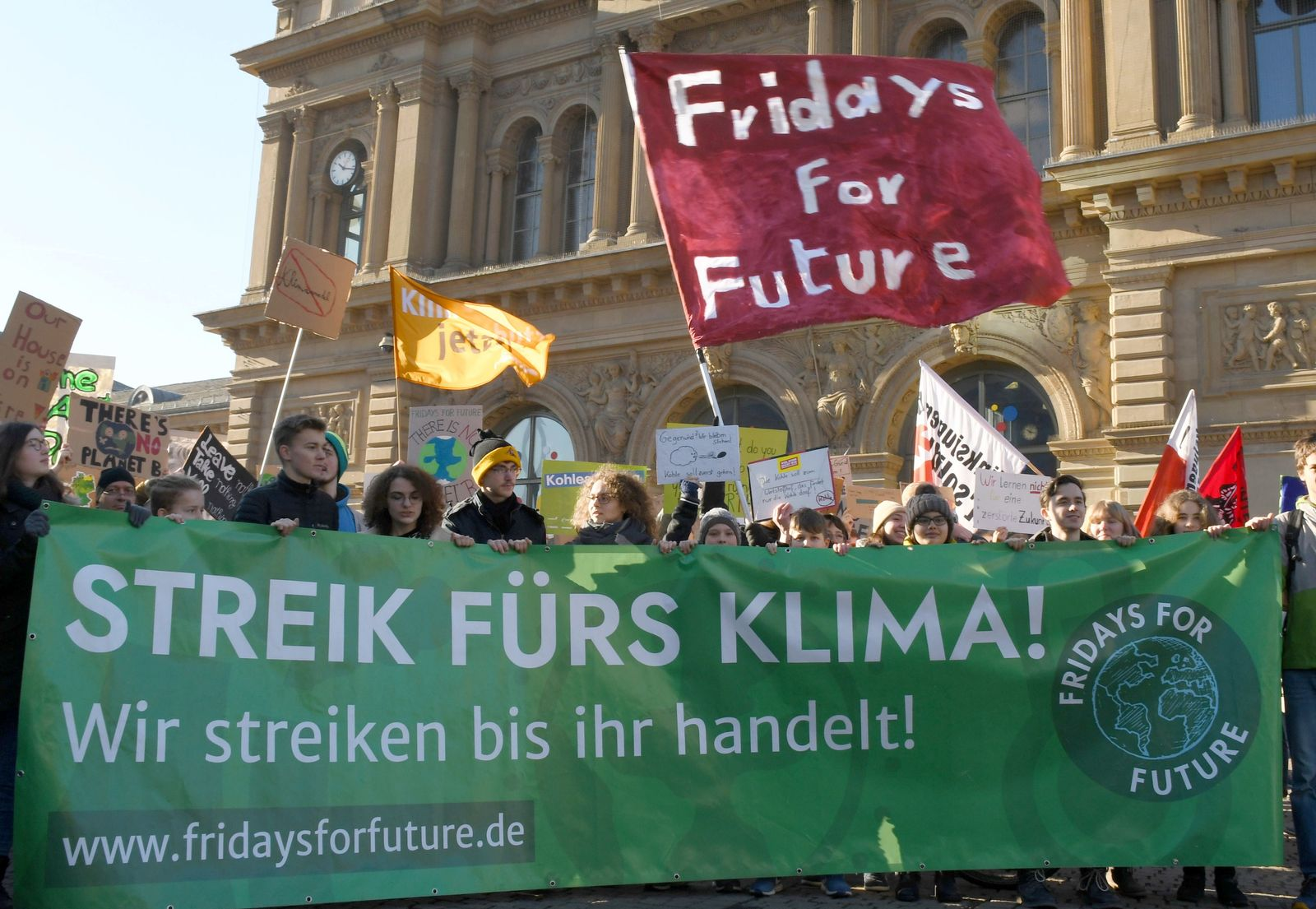 Kampagne «Fridays for Future»