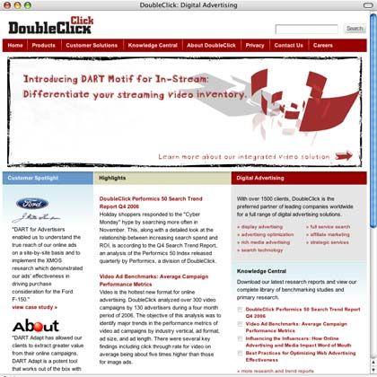 DoubleClick-Seite: Einst von der Börse genommen, nun wieder von vielen Seiten umworben
