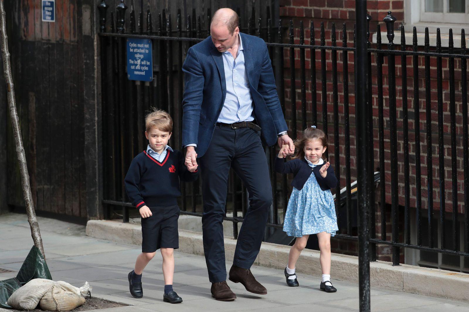 Charlotte, George, William