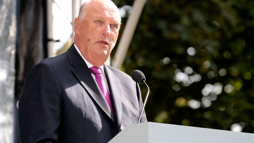Klare Botschaft: König Harald wünscht ein offenes Norwegen