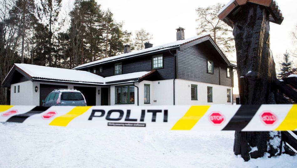 Das Haus der Hagens in der Nähe von Oslo