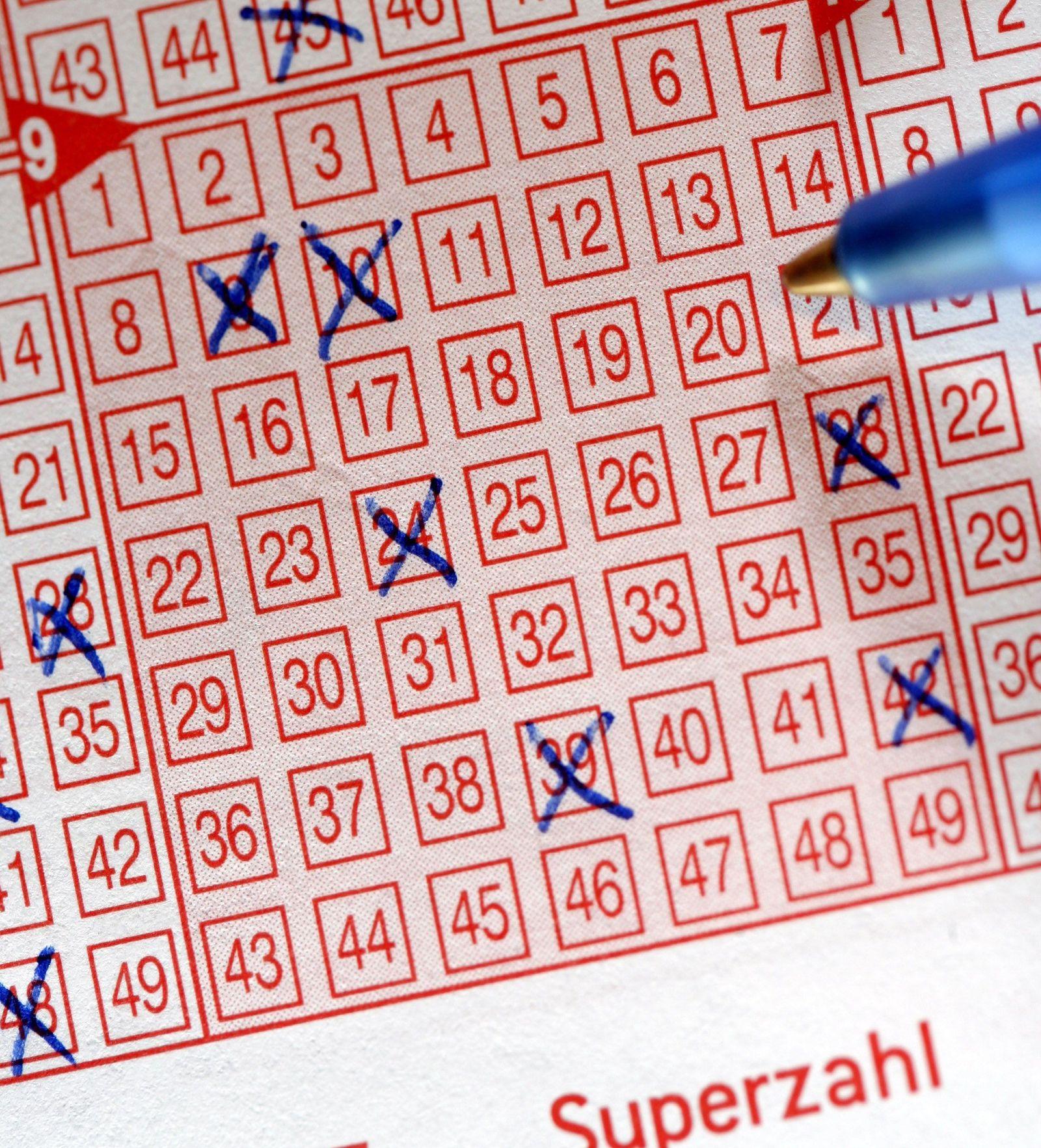 Lottoschein