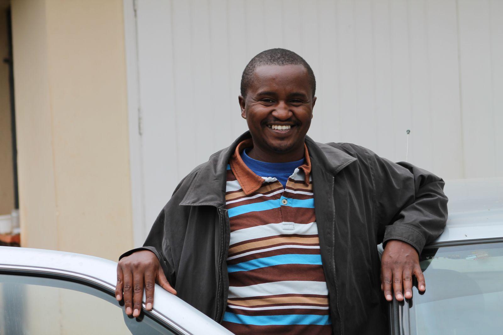 EINMALIGE VERWENDUNG Kenia-Sicht