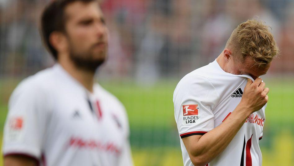 Ingolstadts Sonny Kittel (r.)