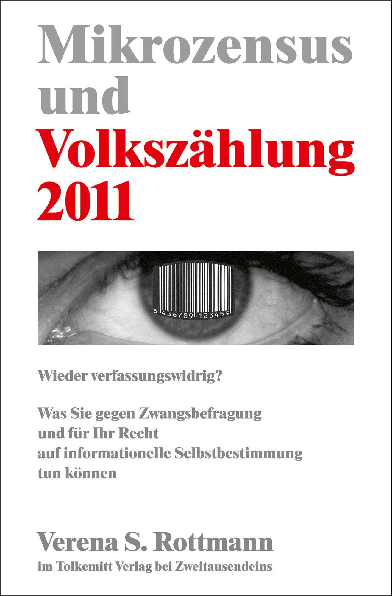 COVER Volkszählung / Zensus 2011