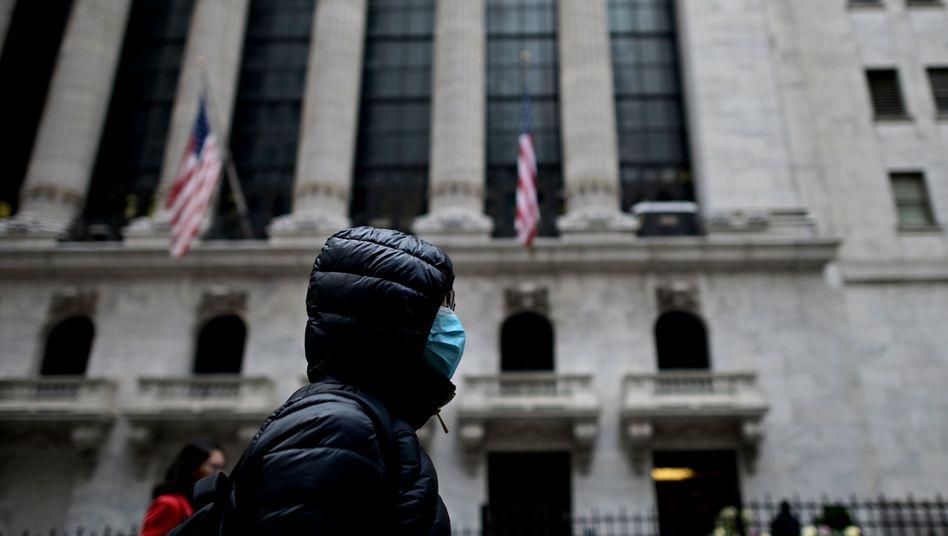 """Wall Street in New York: """"Die Amerikaner sind nicht in kooperativer Stimmung"""""""