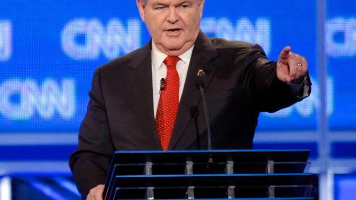 Debatte in South Carolina: Newt Gingrich - er kam, sah und polterte